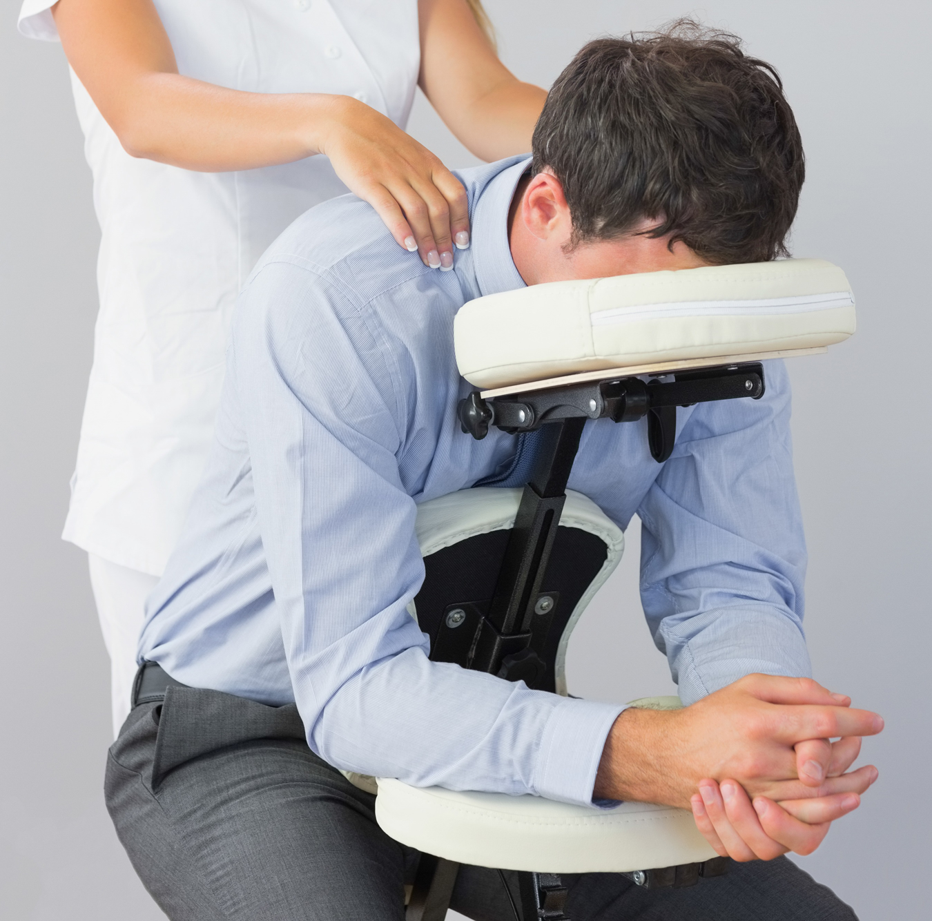 Chair massage therapy - On Site Chair Massage